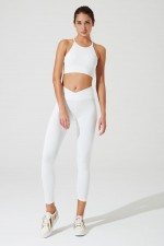 V-waist Ribbed Legging