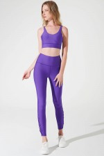 Purple S'angria Knotte Legging