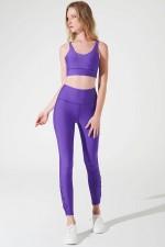 Purple S'angria Knotte Bra