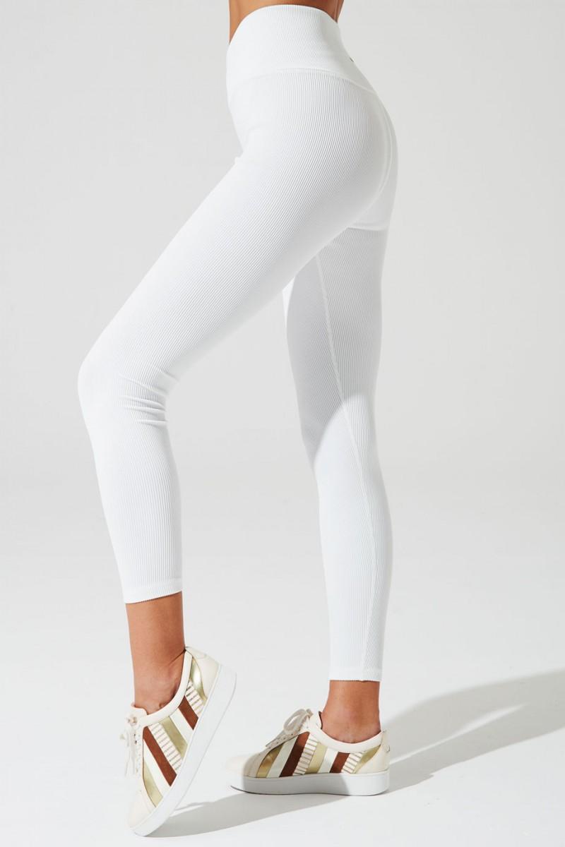 V-waist Ribbed Legging