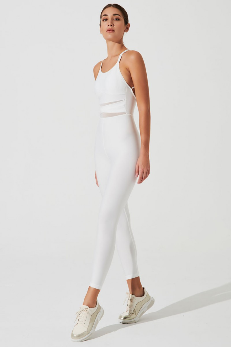 Shikara Jumsuit Limited In White